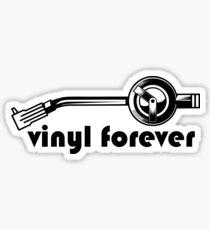 Vinyl Forever Sticker