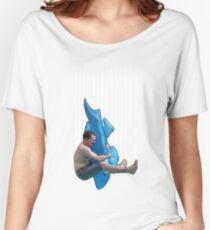 Piledriving Sharks! Women's Relaxed Fit T-Shirt