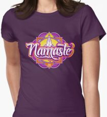 NAMASTE Women's Fitted T-Shirt
