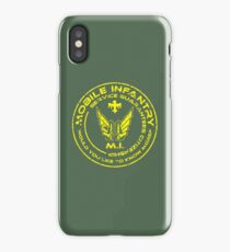 Starship Troopers - Mobile Infantry Patch iPhone Case/Skin