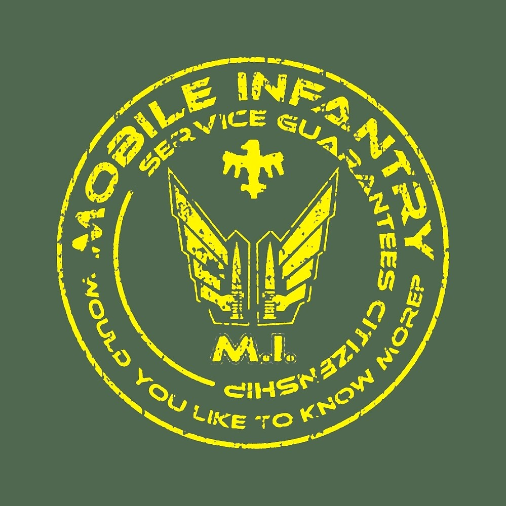 Starship Troopers - Mobile Infantry Patch by UnconArt