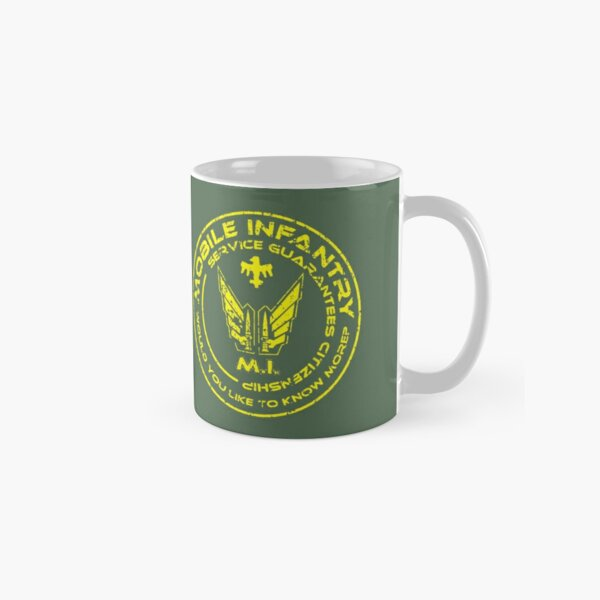 Starship Troopers - Mobile Infantry Patch Classic Mug