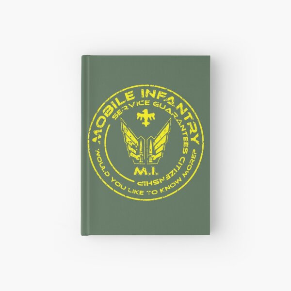 Starship Troopers - Mobile Infantry Patch Hardcover Journal