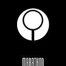Marathon Logo - White by zepfhyr