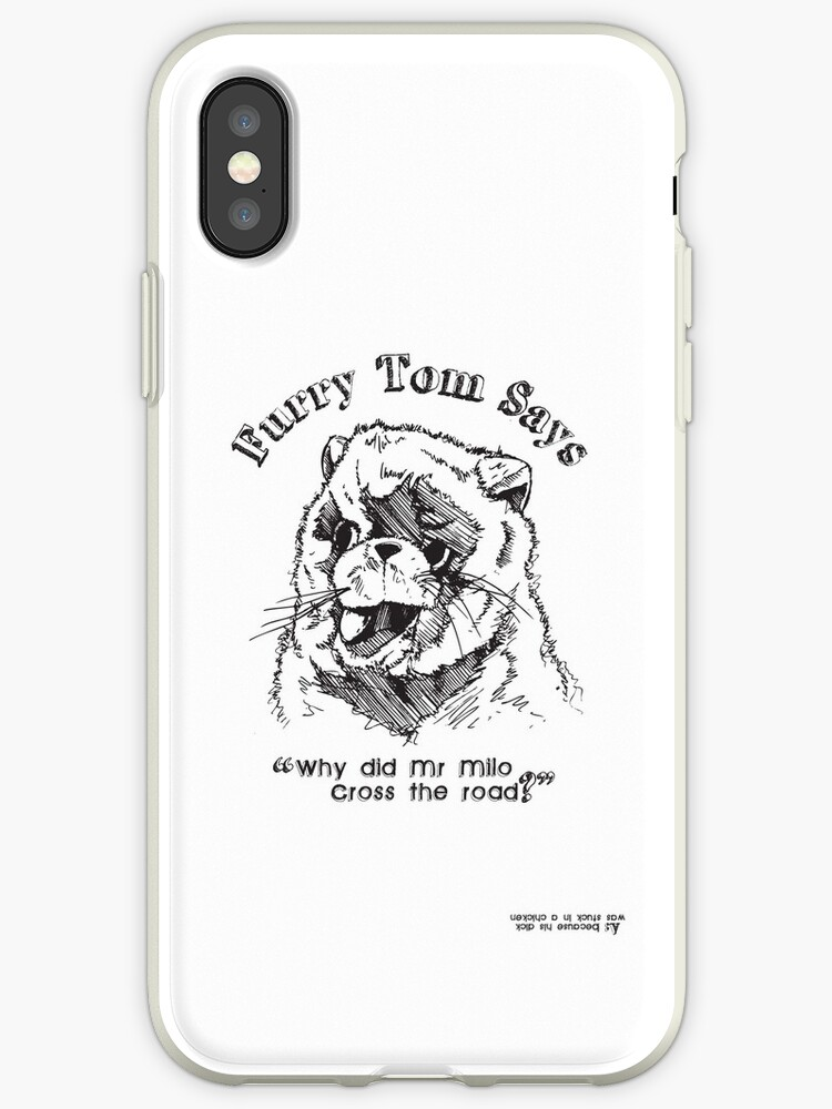 lowest price 96d67 1d252 'Furry Tom - Last Boy Scout' iPhone Case by [g-ee-k] .com
