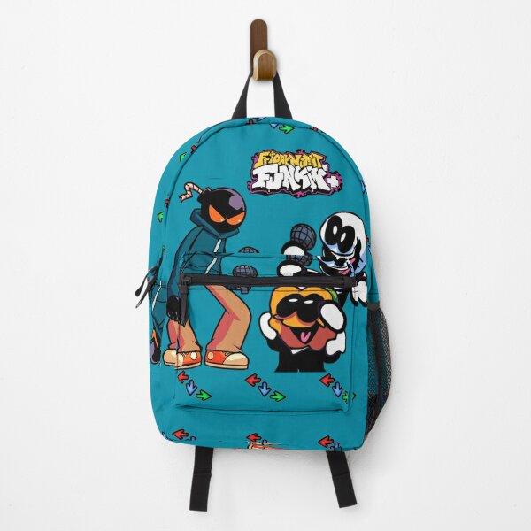 SKID AND PUMP vs WHITTY FRIDAY NIGHT FUNKIN Birthday Backpack, FRIDAY NIGHT FUNKIN Characters Backpack