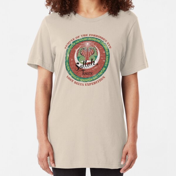 Sallah's Temple Tours Slim Fit T-Shirt