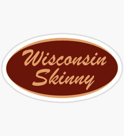 The Original Wisconsin Skinny Logo Sticker