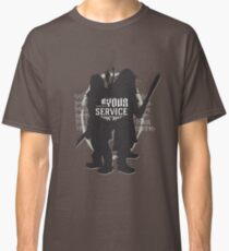 At Your Service Classic T-Shirt