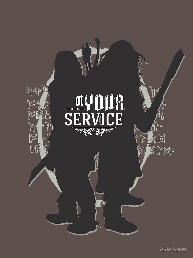 TShirtGifter presents: At Your Service | Unisex T-Shirt