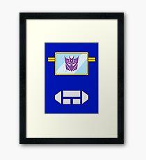 Soundwave - Transformers 80s Framed Print