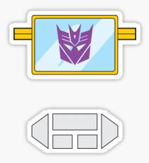 Soundwave - Transformers 80s Sticker