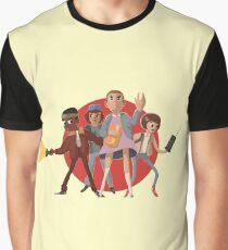 Stranger Things Fun Cartoon Graphic T-Shirt