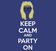 Keep Calm, and Party On | Unisex T-Shirt