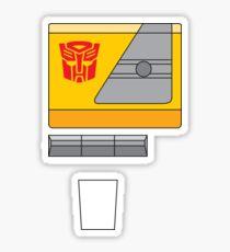 Blaster - Transformers 80s Sticker