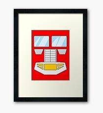 Optimus Prime - Transformers 80s Framed Print