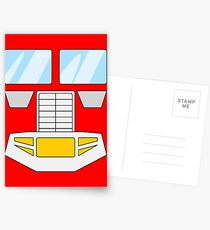 Optimus Prime - Transformers 80s Postcards