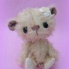 Handmade bears from Teddy Bear Orphans - Kandase by Penny Bonser