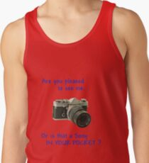Are you pleased to see me. Sony. Tank Top