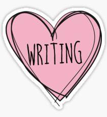 Writing, writer Sticker