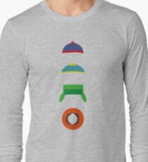 Minimalist cool south park design T-Shirt