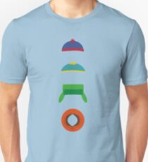 Minimalist cool south park design T-Shirt