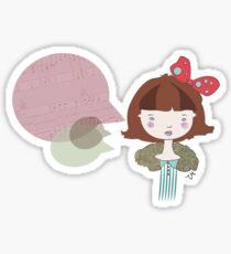 mostly Sticker