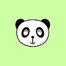 Kola der Panda - Kopf von Chopsy28