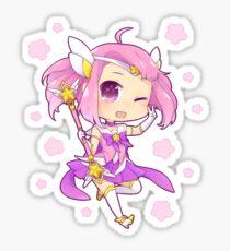 CHIBI STAR GUARDIAN LUX   League of Legends Sticker