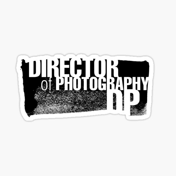 Film Crew II. Director of Photography / DoP. Sticker