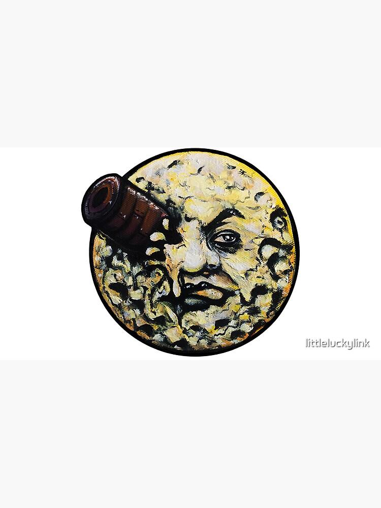 Trippin' to the Moon (Le Voyage Dans La Lune) by littleluckylink
