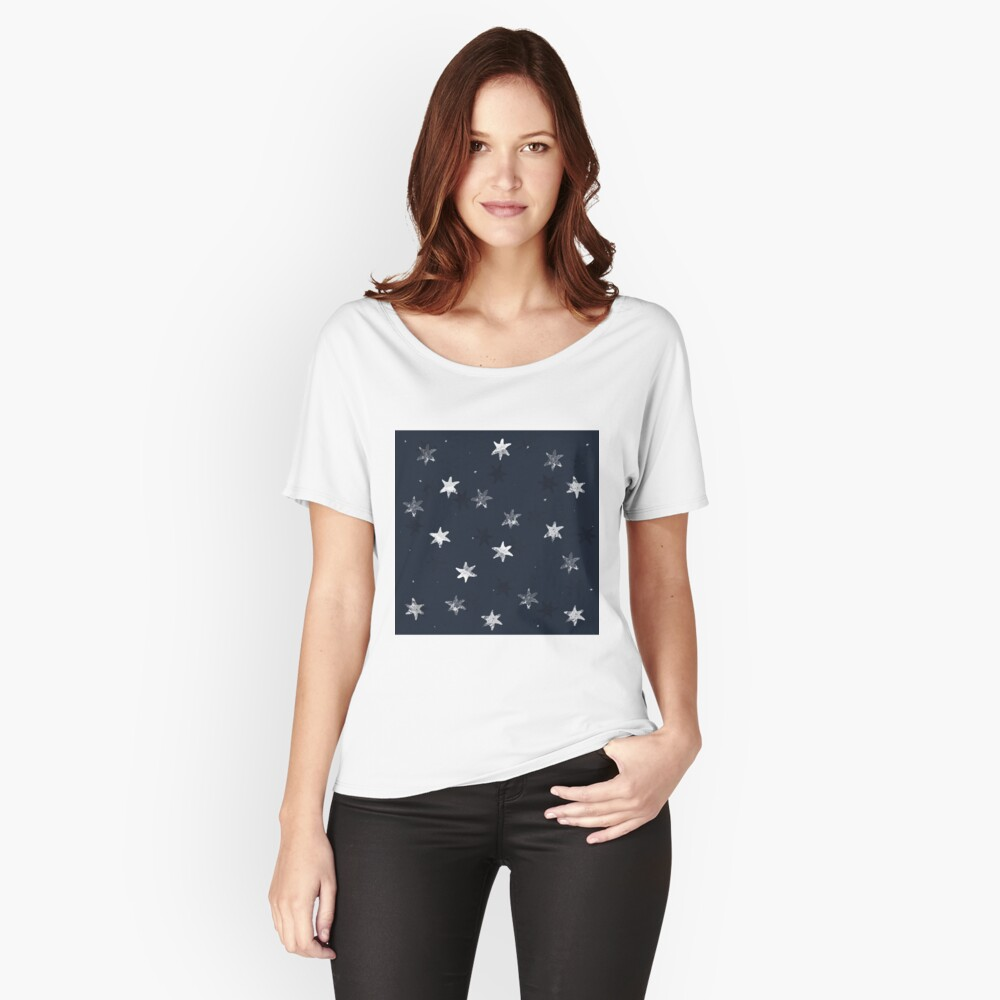 Stamped Star Relaxed Fit T-Shirt
