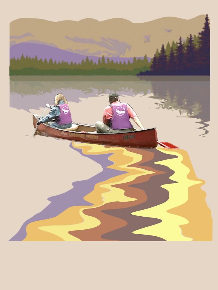 Tee: Canoe Lesse by stevenhouse