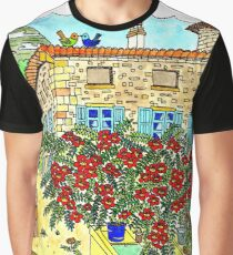 Beautiful Farm of Brigaudière Graphic T-Shirt