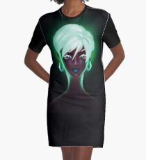 Serene Graphic T-Shirt Dress