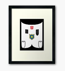 Prowl - Transformers 80s Framed Print