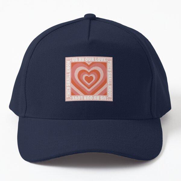 John 13:35 Design- (Orange and Pink) Baseball Cap