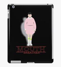 Mouth Breather Stranger  iPad Case/Skin