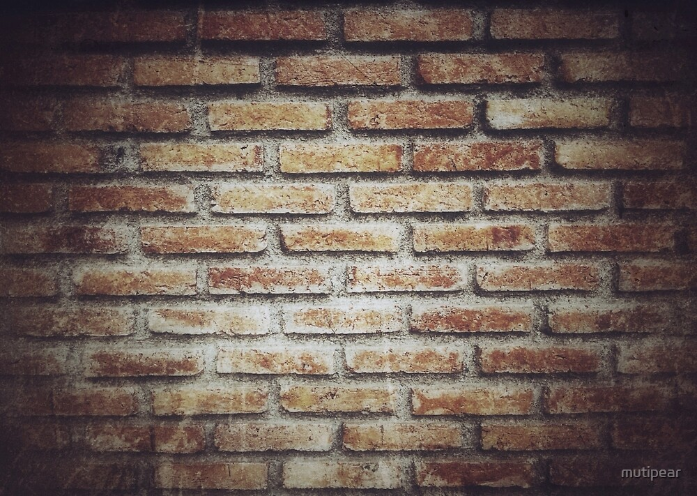 Old grunge block brick wall background with retro effect filter ...