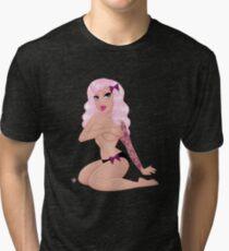 Pink Tattooed Honey Tri-blend T-Shirt