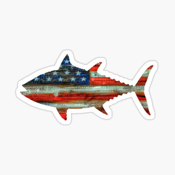USA Merica Tuna Sticker