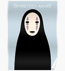 Spirited Away / No Face Poster