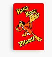 Hong Kong Phooey Canvas Print