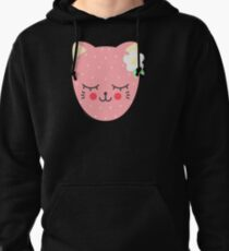 Cat Berry Pullover Hoodie