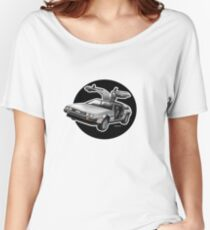 Delorean Iconic sportscar.. Women's Relaxed Fit T-Shirt