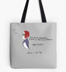 Holden Caulfield Tote Bag
