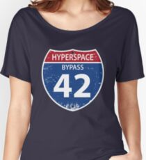 Hyperspace Bypass 42 Women's Relaxed Fit T-Shirt