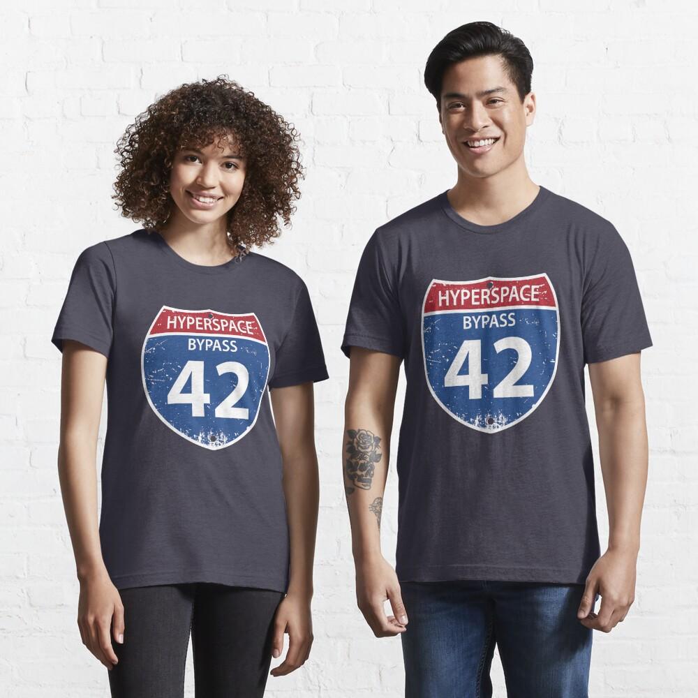 Hyperspace Bypass 42 Essential T-Shirt
