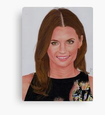Stana Katic Canvas Print
