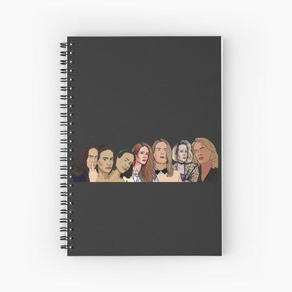 Sarah Paulson: AHS Fan art Spiral Notebook
